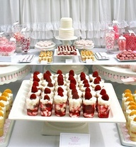 17 Best 1000 images about Bridal Shower Food on Pinterest Bridal