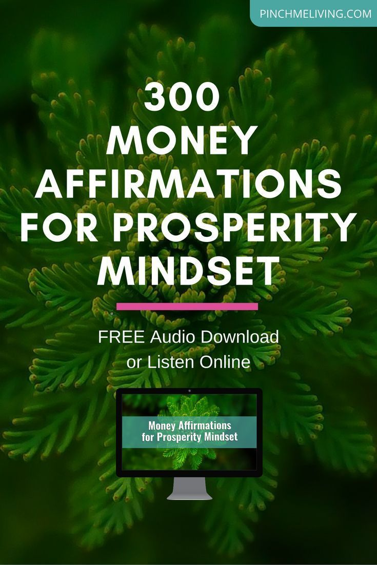 300 Money Affirmations Audio - FREE Download   affirmations