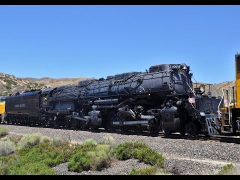 Big Boy 4014 Steam Train: Headin' Home Tour - YouTube