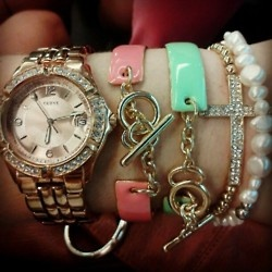 : Southern Comforter, Arm Candy, Sweet, Accessories Jewelry Watches, Arm Bracelets, Armcandi, Jewelry Whore, Pearls Bracelets, Crosses Bracelets