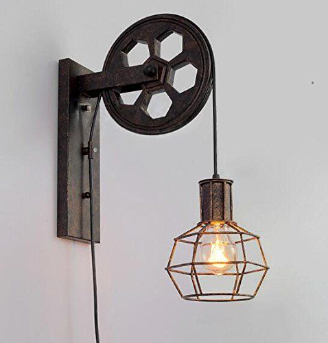 17 Best Ideas About Industrial Wall Lights On Pinterest