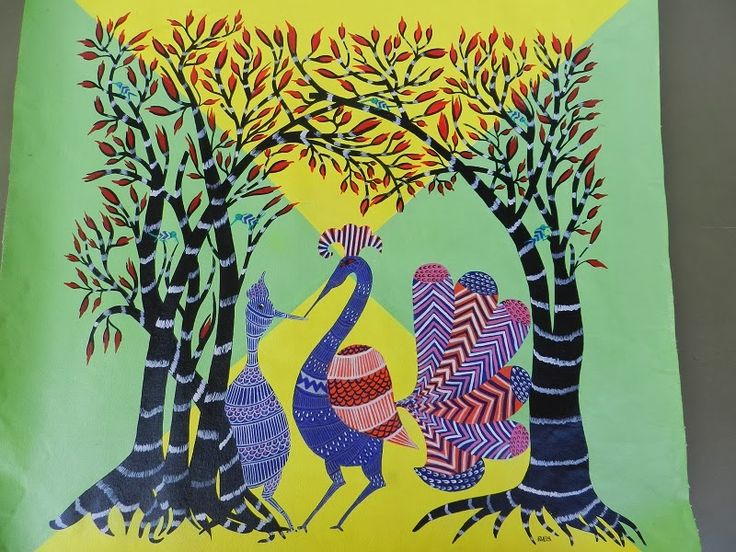 PepUp Street, Gond, tribal art, Indian art, Pep Up Street
