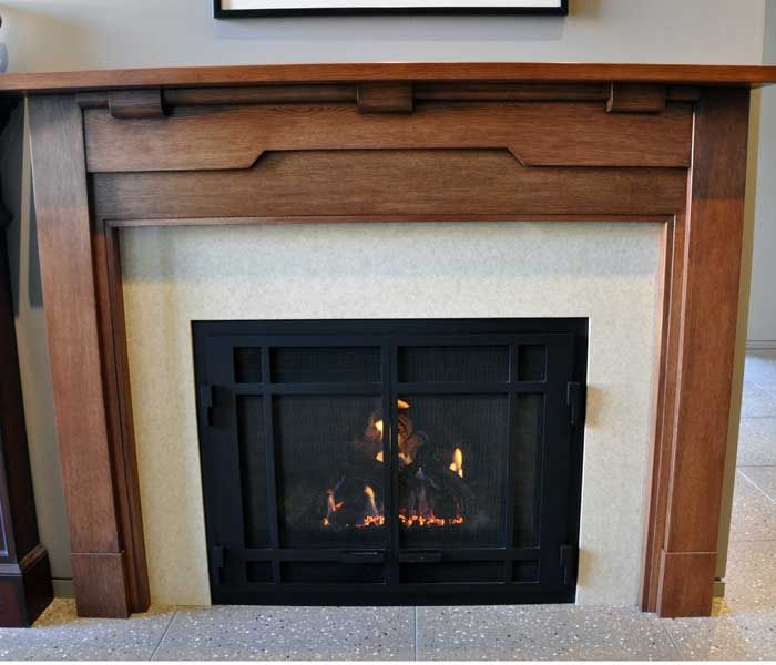 24 best images about fireplace on pinterest mantels for Craftsman style fireplace mantel plans