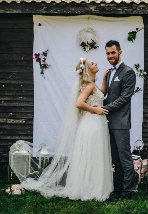 Suknie Suknia ślubna 36 38 Shakira Ecru Koronka Mega Wygodna 1