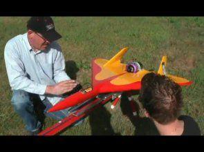 Remote controlling a 400 mph RC Jet Plane [VIDEO] ~ BestOfVids.com