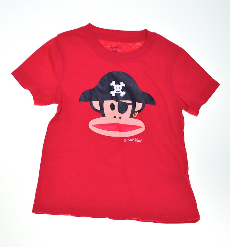 Monkey Pirate by Paul Frank. Available at: http://wittlebee.com