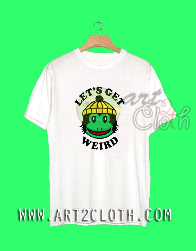 ab9567e8 Cheap Custom Tee Finn Wolfhard Let's Get Weird T Shirts //Price: $14.00 // # Trendfashion