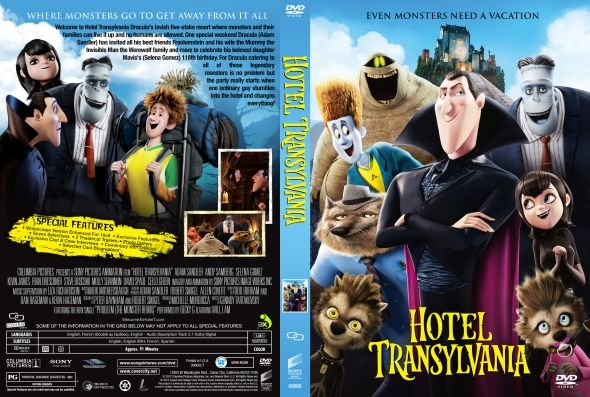 Hotel Transylvania Dvd Cover Hotel Transylvania Dvd Covers Amp Labels By Covercity Hotel
