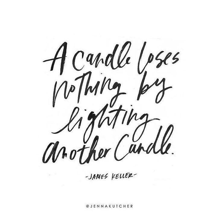 """""""A candle loses nothing by lighting another candle."""" -James Keller  Can I get an amen? Let's go out and light one another's candles make the would a little brighter celebrate one another successes and join together in walking this sweet path of life!  We rise in lifting others! Her success is my success! You in? Double tap if YES! Tag those people who light up your life below!  by jennakutcher"""