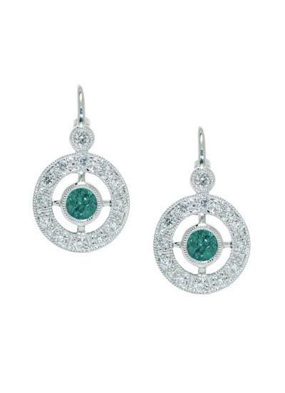 Earrings, $2600    Zappacosta Jewels