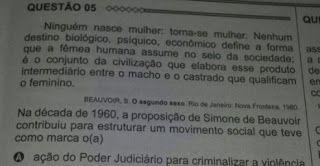 "Bruno Braga: A ""ideologia de gênero"" no ENEM."
