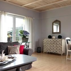 Wnętrza domów: nuta nowoczesności w stylowym domu