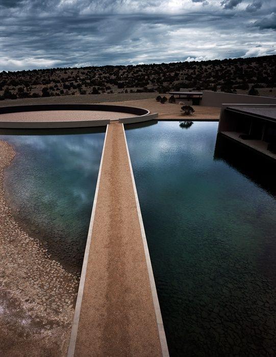 Tom Ford's Santa Fe ranch by TADAO ANDO