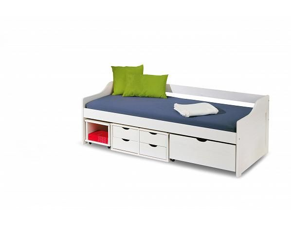 Dětská postel Floro, bílá