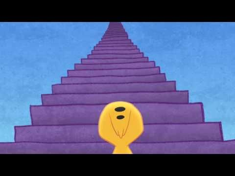 One Thousand Steps . . . begins with one.  My absolute all-time favorite video for kids to watch about perseverance.
