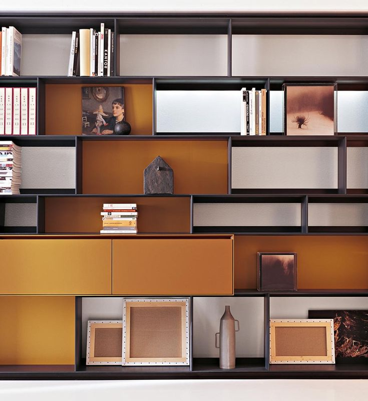 System Bookcase: FLAT.C   Collection: Bu0026B Italia   Design: Antonio. Shelving  UnitsStorage ...