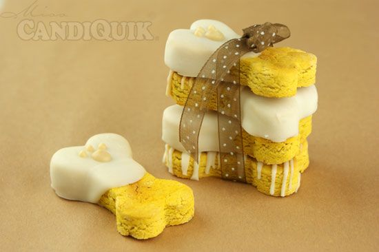 Lola's Pumpkin Dog Biscuits - Let's not forget our canine friends this season...mine will love these!