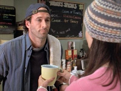 """""""So I'm looking at this piece of paper in my hand, and under 'Scorpio,' she had written, 'you will meet an annoying woman today. Give her coffee and she'll go away.' I gave her coffee."""""""