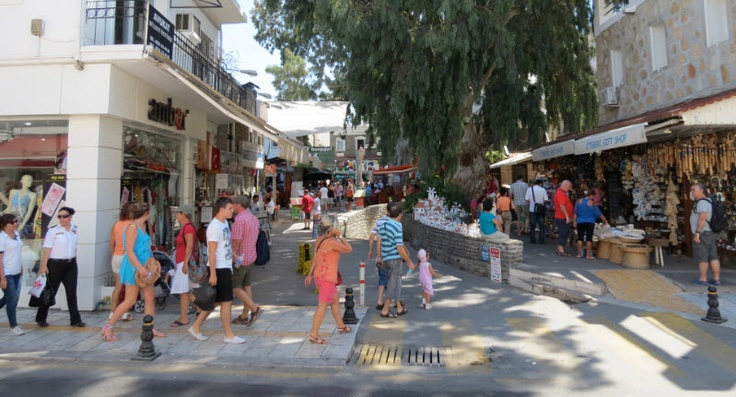 Bodrum Shopping. Not an 'official' mall, but almost feels