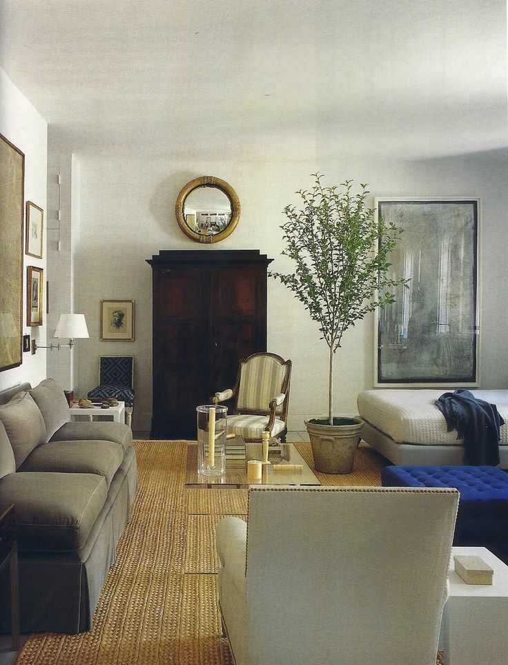 Chic, Tailored Living Room
