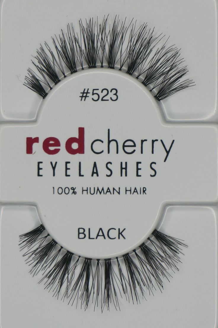 Red Cherry Eyelashes #523
