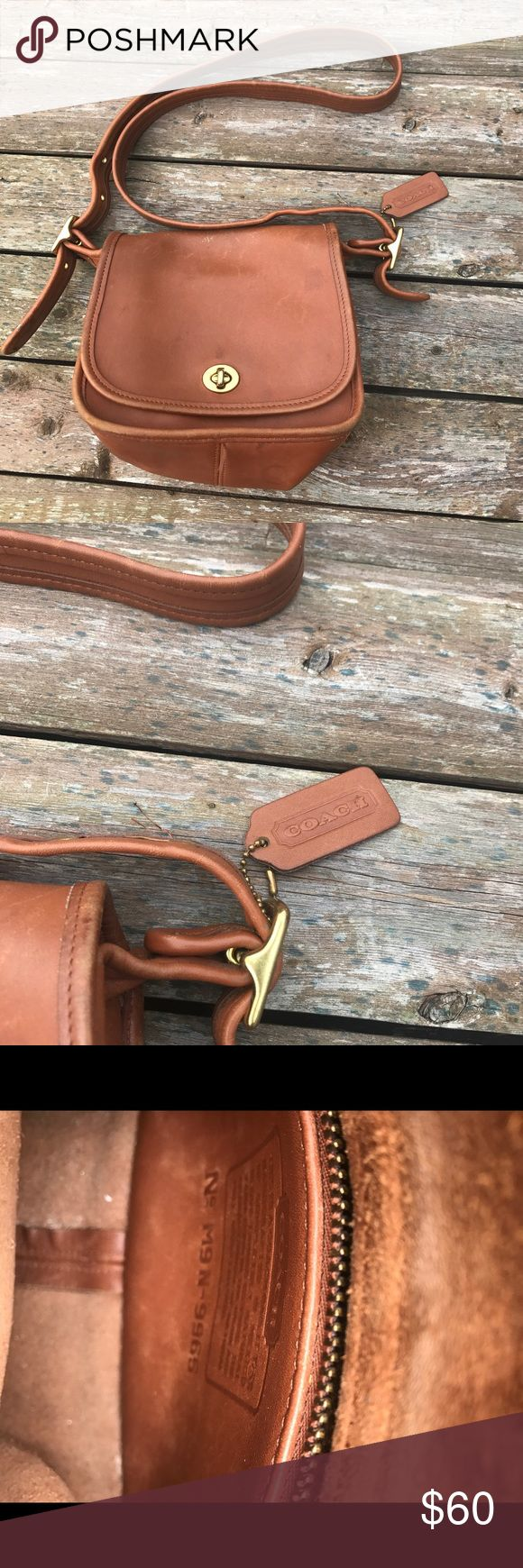 Vintage Coach Legacy Small Flap Crossbody Wear shown in photos but still in very good condition! Style 9965 Coach Bags Crossbody Bags