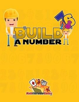 Build a Number: Whole Number Place Value Game https://www.teacherspayteachers.com/Product/Build-a-Number-Whole-Number-Place-Value-Game-1037630 #Math