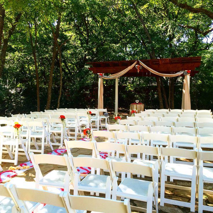 outdoor wedding venues dfw texas%0A Wildwood Inn  wildwoodinn  waltersweddingestates  denton  weddingvenue  dfw   outdoor  ceremony  Beautiful Wedding