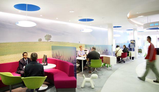 The Cooperative Bank Interior Design