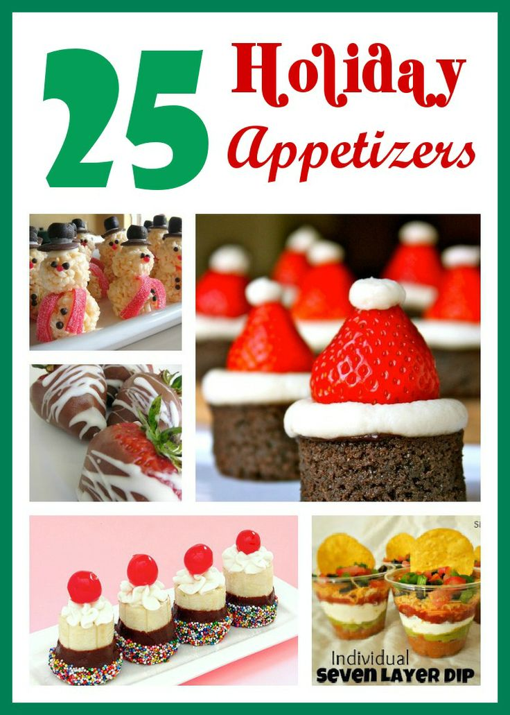 Six Sisters' Stuff: 25 Holiday Appetizers