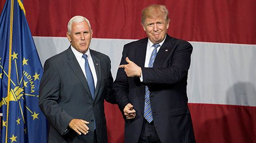 Trump Names Indiana Governor Mike Pence as Running Mate.(July 15th 2016)