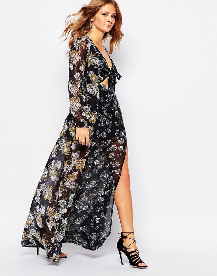 Millie+Mackintosh+Maxi+Dress+in+70s+Floral+Print