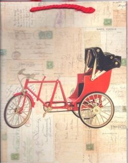 Gift Bags - Bicycle - Pentique Stationers