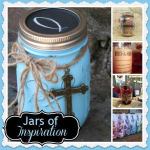 Want to cheer someone up, or find a way to bless them? Try making these inspiration jars. They're beautiful and of course, filled with inspiration!