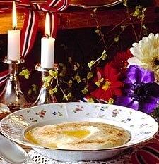 Recipe for Roemmegroet Or rømmegrøt, as we say in Norway #Norwegian #Food #Roemmegroet
