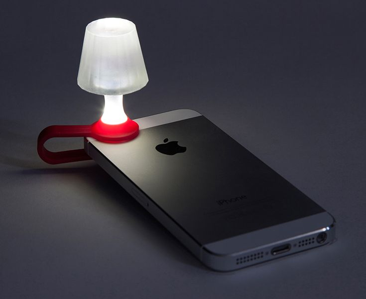 luma tiny lampshade turns your smartphone into a fun night light