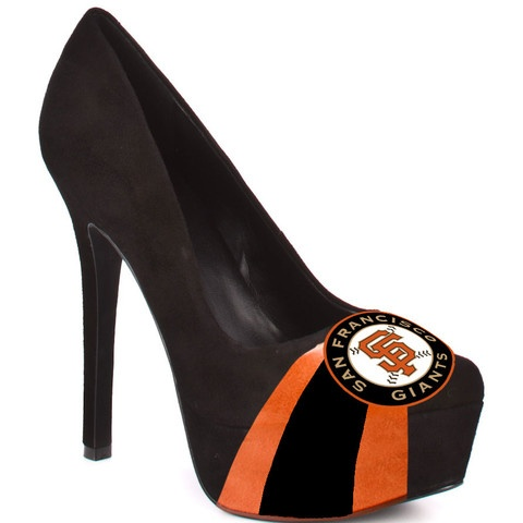 HERSTAR™ Women's San Francisco Giants Suede Pumps. Use promo code KKM$10 at checkout and receive $10 off! $99.99