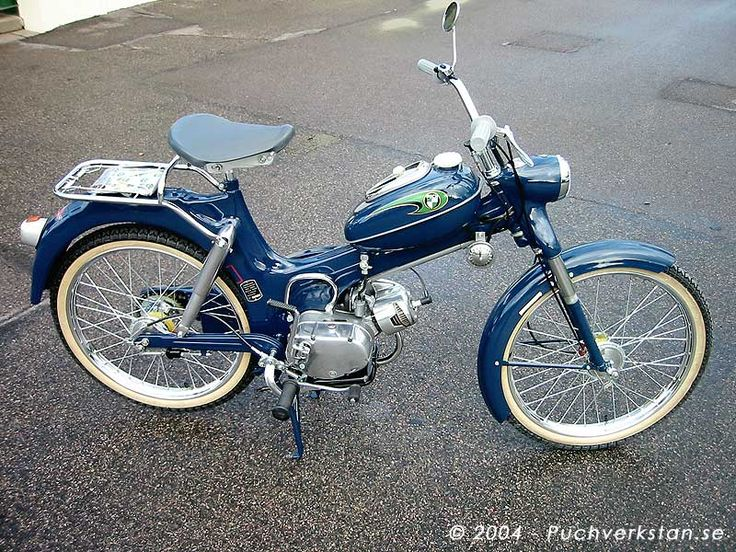1968 Puch MS Automatic, MS 50 KA