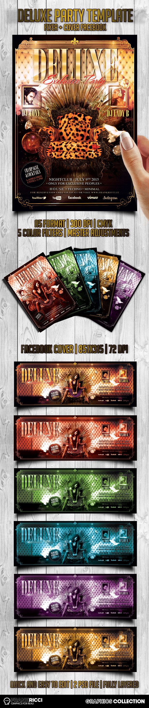 Deluxe 01 New PSD Template avalaible on http://frankricci.it/deluxe-01/