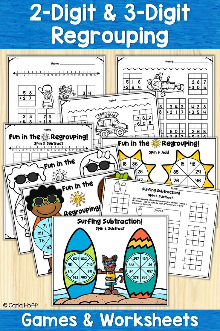 Just In Time For Summer Learning Fun 40 Worksheets And 4 Spinner Games For The End Of The Year Or Summer School Addition And Subtraction Fun Math Subtraction [ 1104 x 736 Pixel ]