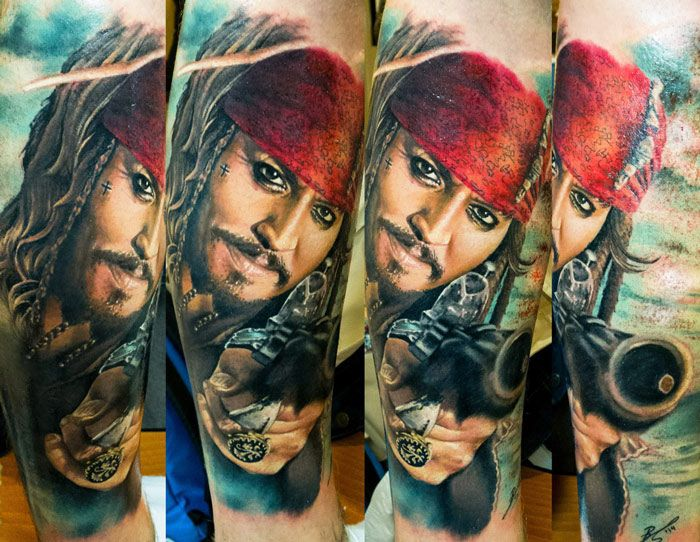 Realistic Movies Tattoo by Zsofia Belteczky | Tattoo No. 12213
