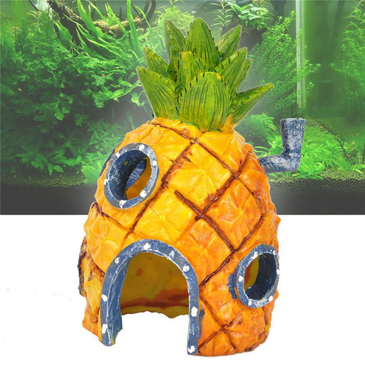 Spongebob Squarepants Pineapple Cartoon House Fish Tank Aquarium Ornament Home Decorations For Swim Explore 13x7cm Free Shipping #clothing,#shoes,#jewelry,#women,#men,#hats,#watches,#belts,#fashion,#style