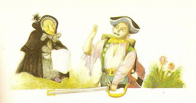 Jiri Trnka (Conte d'Andersen LE BRIQUET - le soldat et la sorcière)   Flickr – Condivisione di foto!