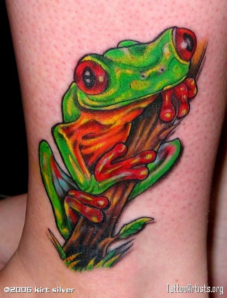 cute frog tattoos | Symbolic Meaning of Frog Tattoo | Find a Tattoo Blog
