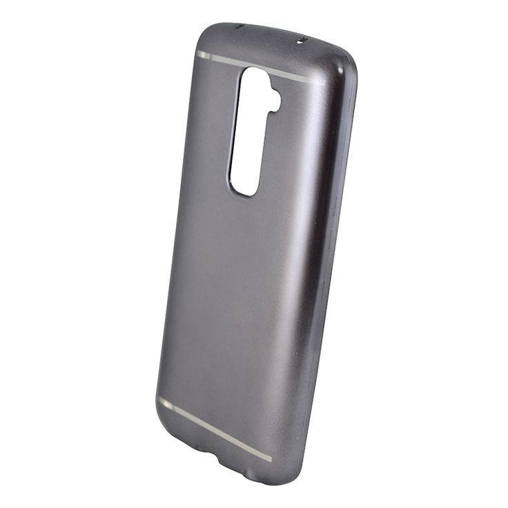 Mobilce   LG G2 NICE TPU SPACE GRAY Mobilce   Cep Telefonu Kılıfı ve Aksesuarları