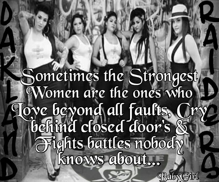 Sometimes the Strongest Women are the ones who Love beyong all faults, Cry behind closed doors & Fights battles nobody knows about...