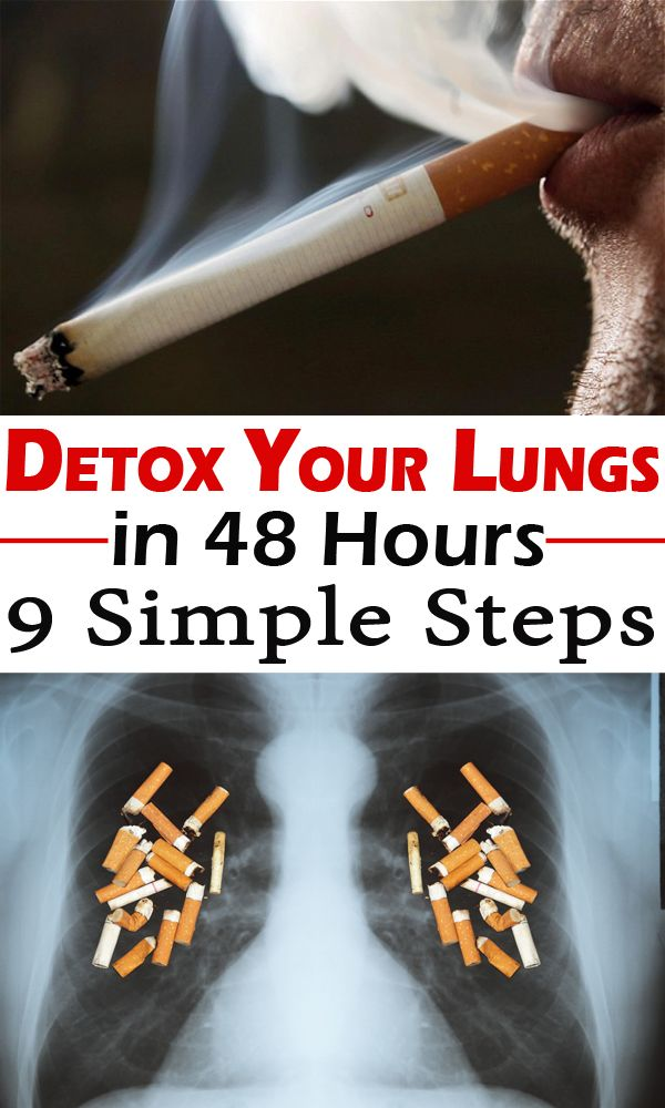 Detox Your Lungs in 48 Hours: 9 Simple Steps