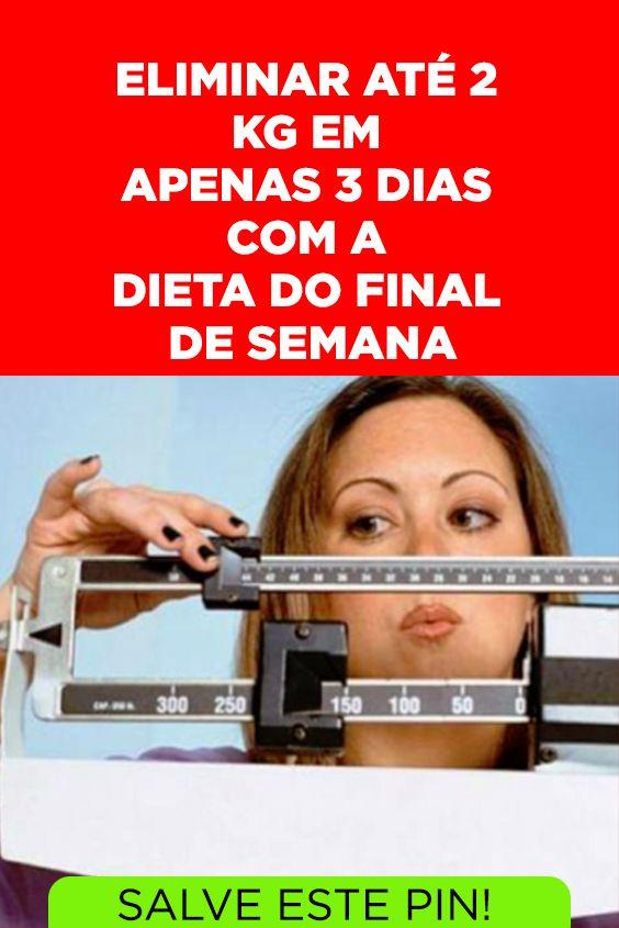 Dieta para emagrecer 2 kilos em 3 dias