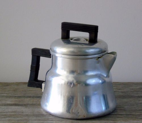 Mid-Century-Modernism-Coffee-Maker-Wear-Ever-Tacuco-Aluminum