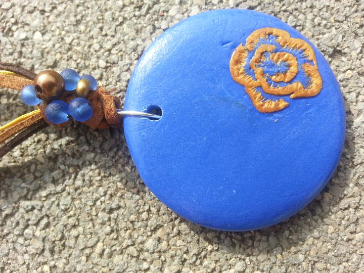 polimer clay neklace